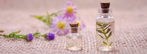 huile de bain aromatique