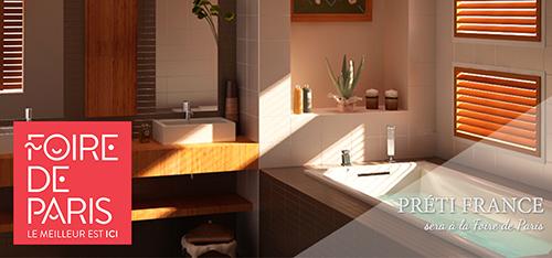 preti france sera la foire de paris 2017. Black Bedroom Furniture Sets. Home Design Ideas